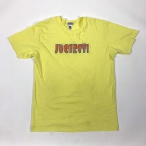 """""""Juciest!"""" Yellow American Apparel Mens T Shirt"""
